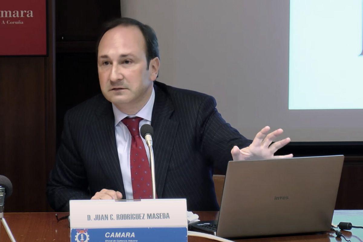 El socio de Dictum Juan Carlos Rodríguez Maseda habla de la Ley de Segunda Oportunidad en la Cámara de Comercio de A Coruña